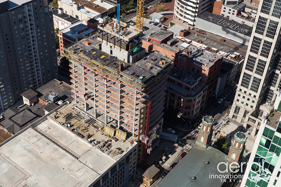 Progress Photos: 505 Nashville Residential Tower