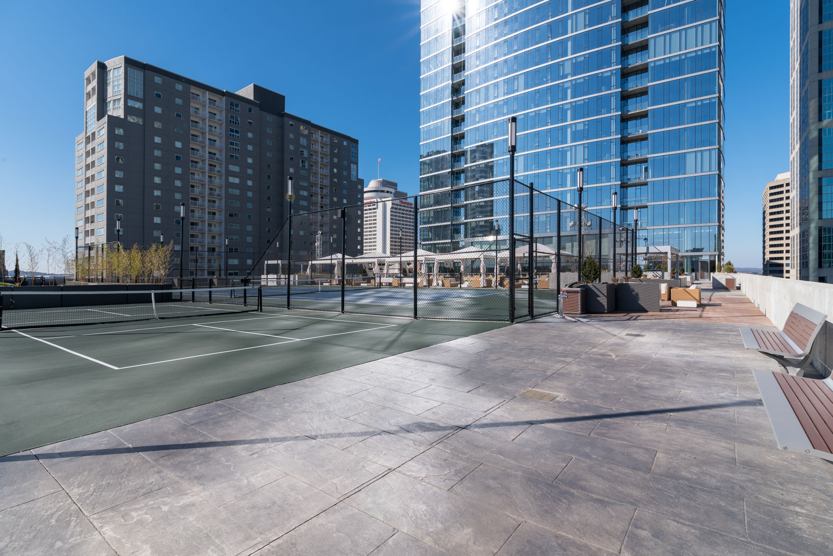 Apartments With Salt Water Pool | 505 Nashville, Tennessee